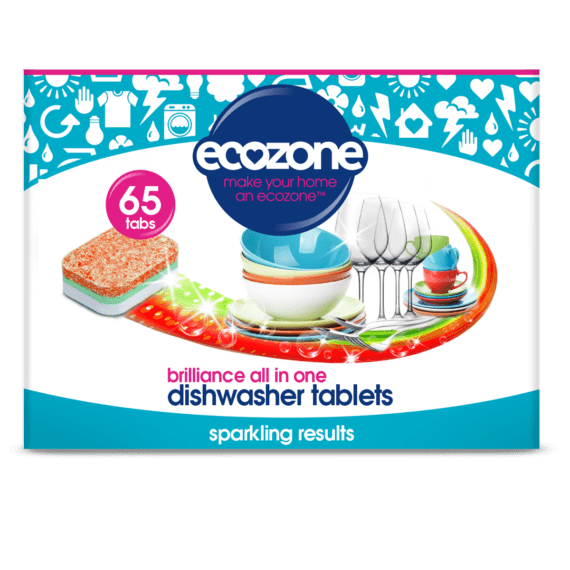 Ecozone brilliance dishwasher tablets 65