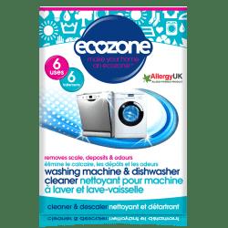 Ecozone Nettoyant machine à laver et lave-vaisselle