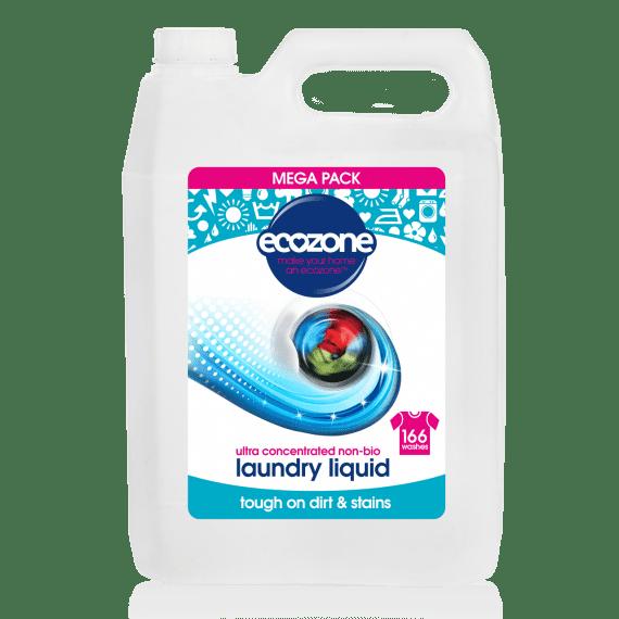 Ecozone Laundry Non Bio Detergent 5L