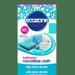 Ecozone's Bathroom Microfibre Cloth