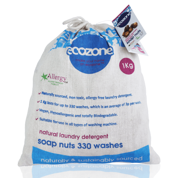 Ecozone Laundry Soap Nuts 1Kg
