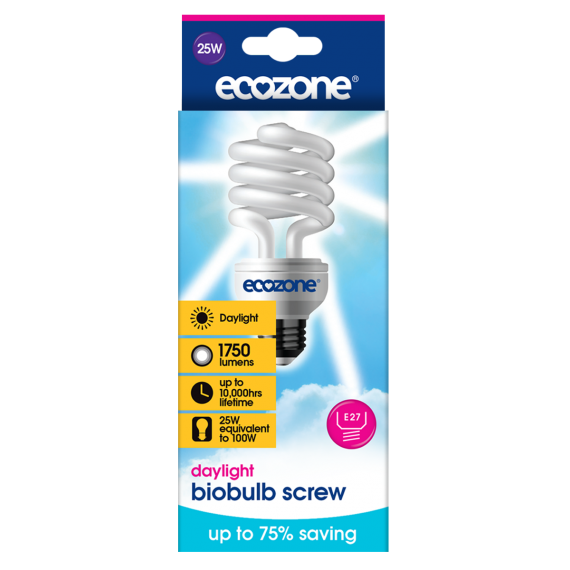 Ecozone E27 LED 25 Watts Daylight