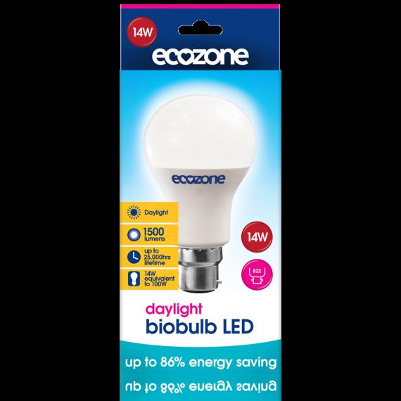 Ecozone B22 LED 14 Watts Biobulb