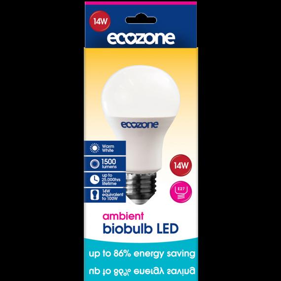 Ecozone E27 LED 14 Watts Ambient Biobulb