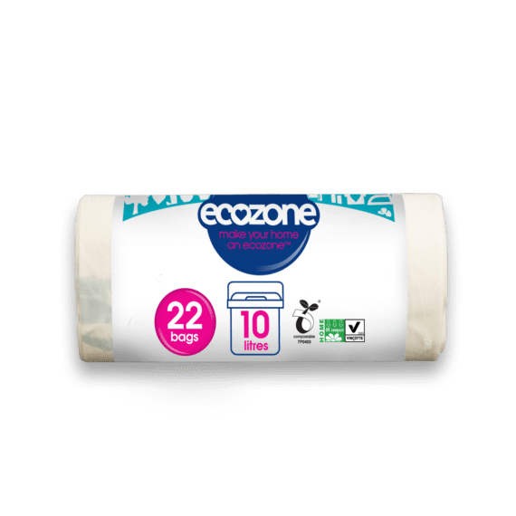 Ecozone caddy bin liner 10L