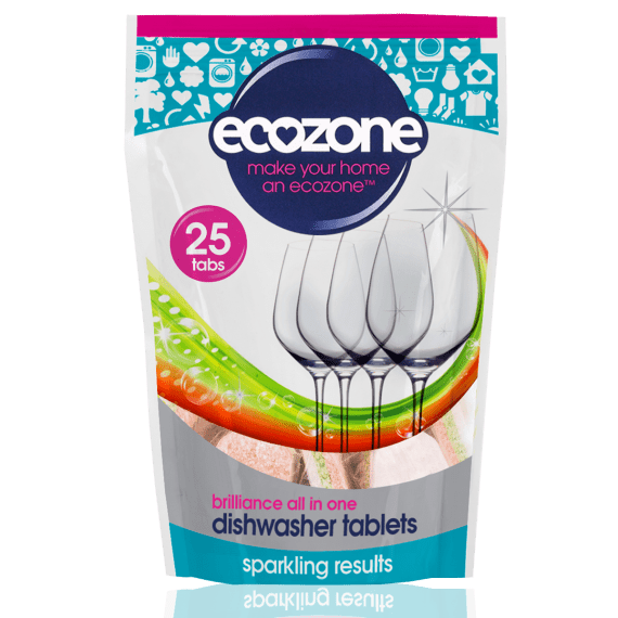 Ecozone Brilliance Dishwasher Tablets