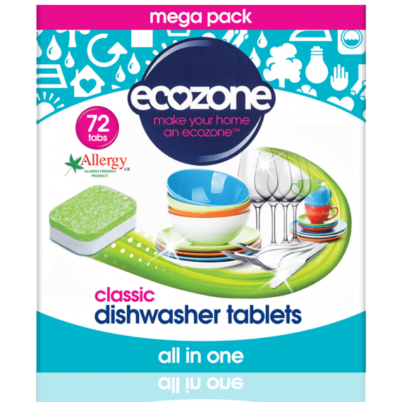 Ecozone Classic Dishwasher Tablets 72