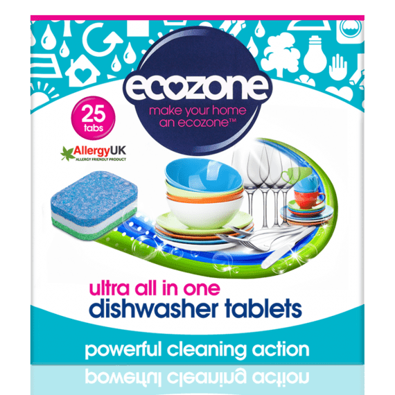 Ecozone Ultra Dishwasher Tablets