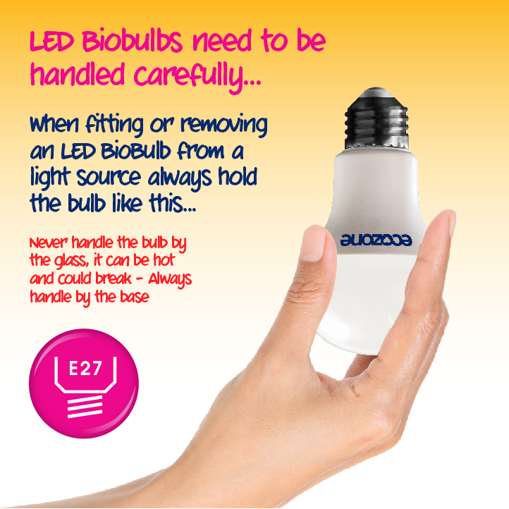 Ecozone E27 LED 14 Watts Ambient Biobulb how to use