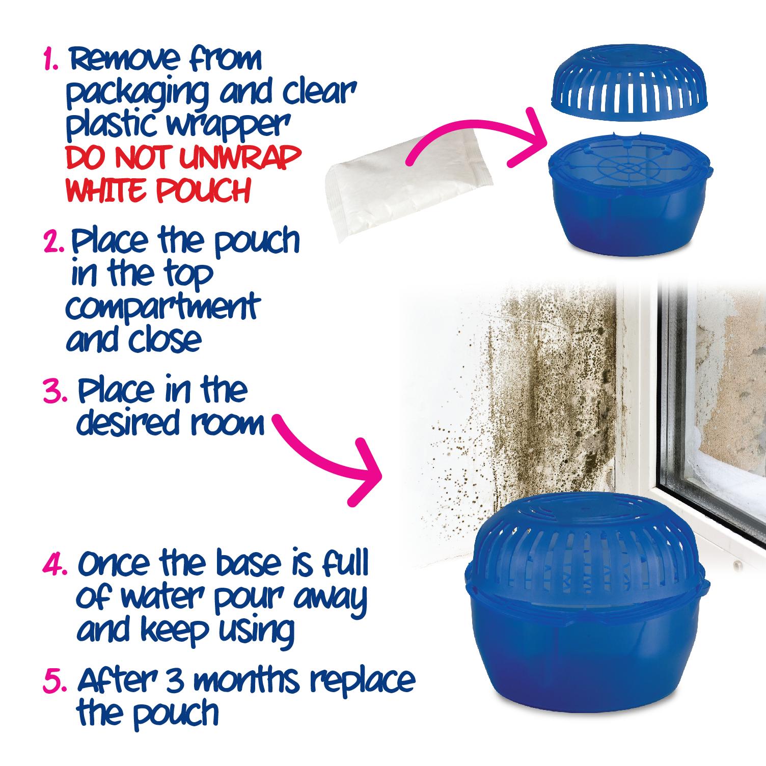 Ecozone Room Dehumidifier how to use