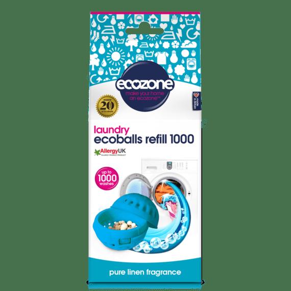 Ecozone Ecoballs Refills Pure Linen Fragrance