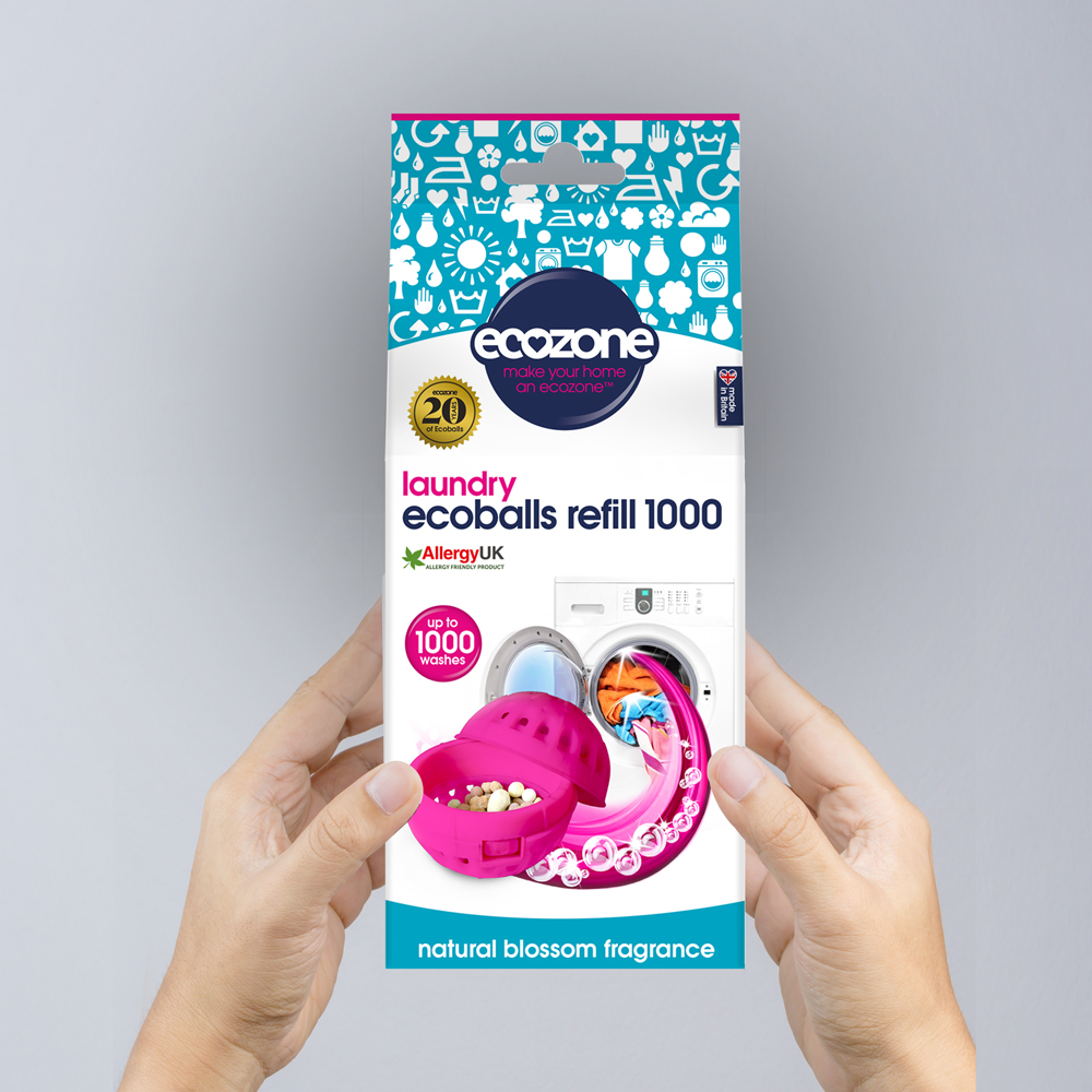 Ecozone Products Ecoball Refills 1000 washes