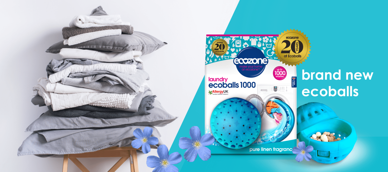 OFFICIAL home of Ecozone ecoballs pure linen