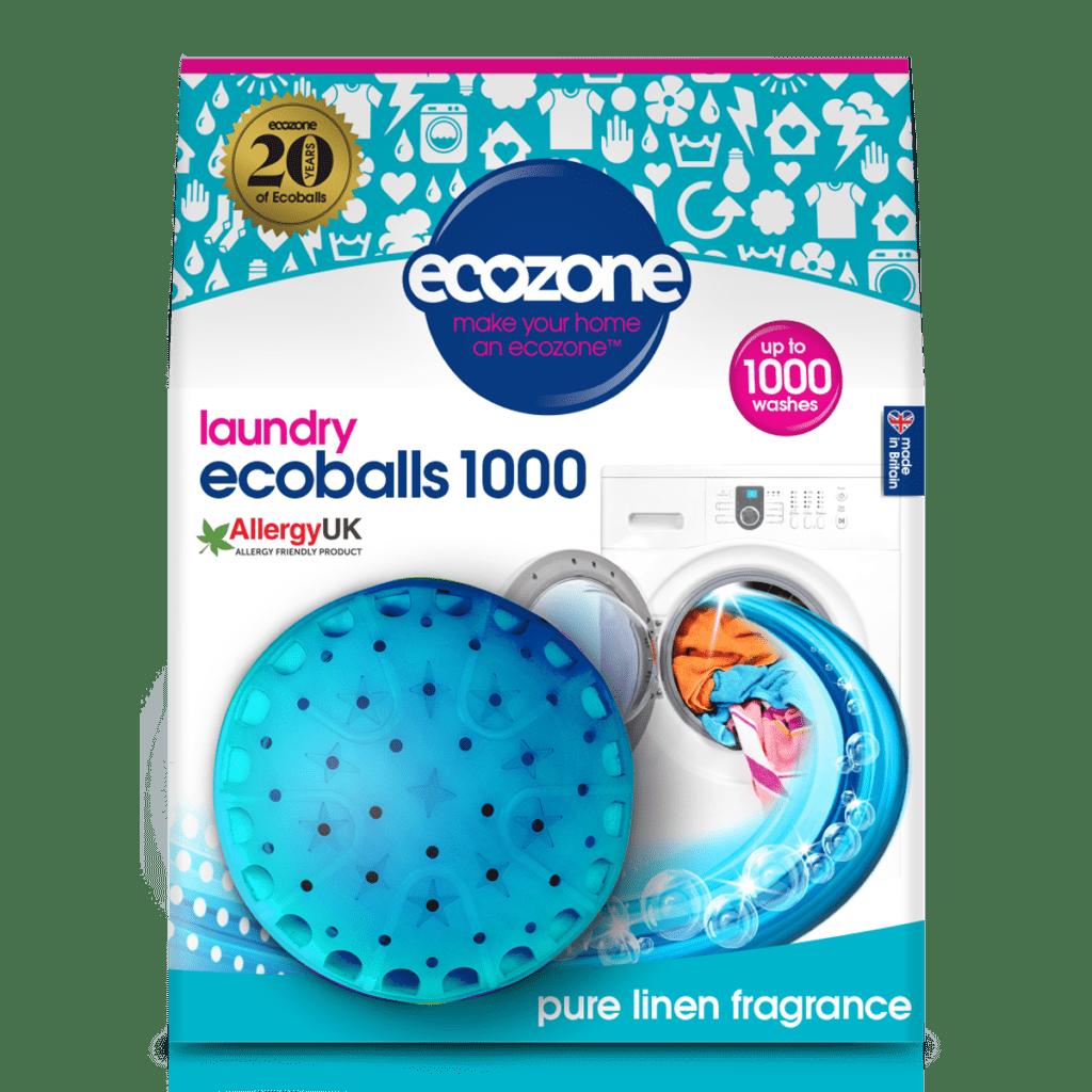 QVC Ecozone Ecoballs Pure Linen Fragrance
