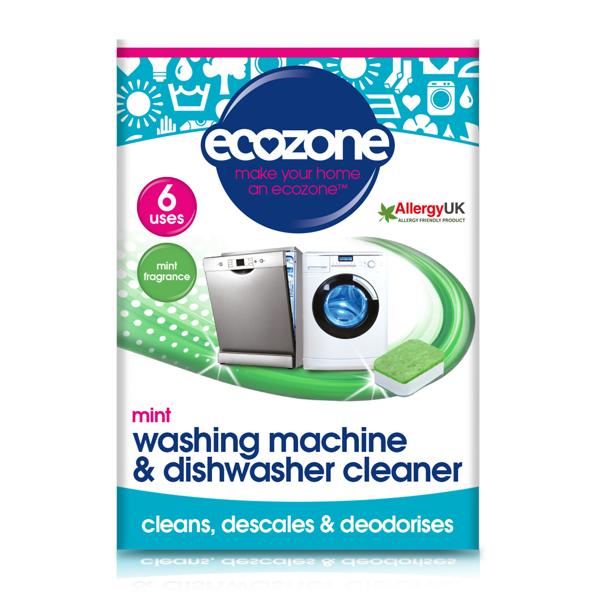 Washing Machine Descaler Mint Ecozone Solutions Products
