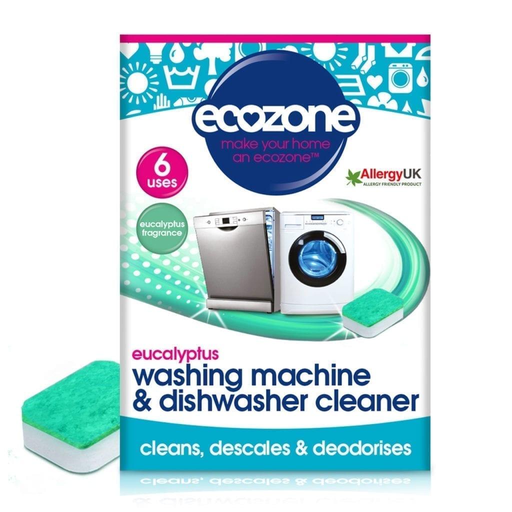 Ecozone washing machine & dishwasher eucalyptus 6 units