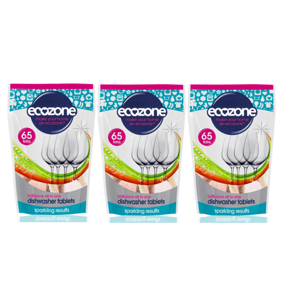 EcBrilliance Dishwasher Tablets 65 Bundle