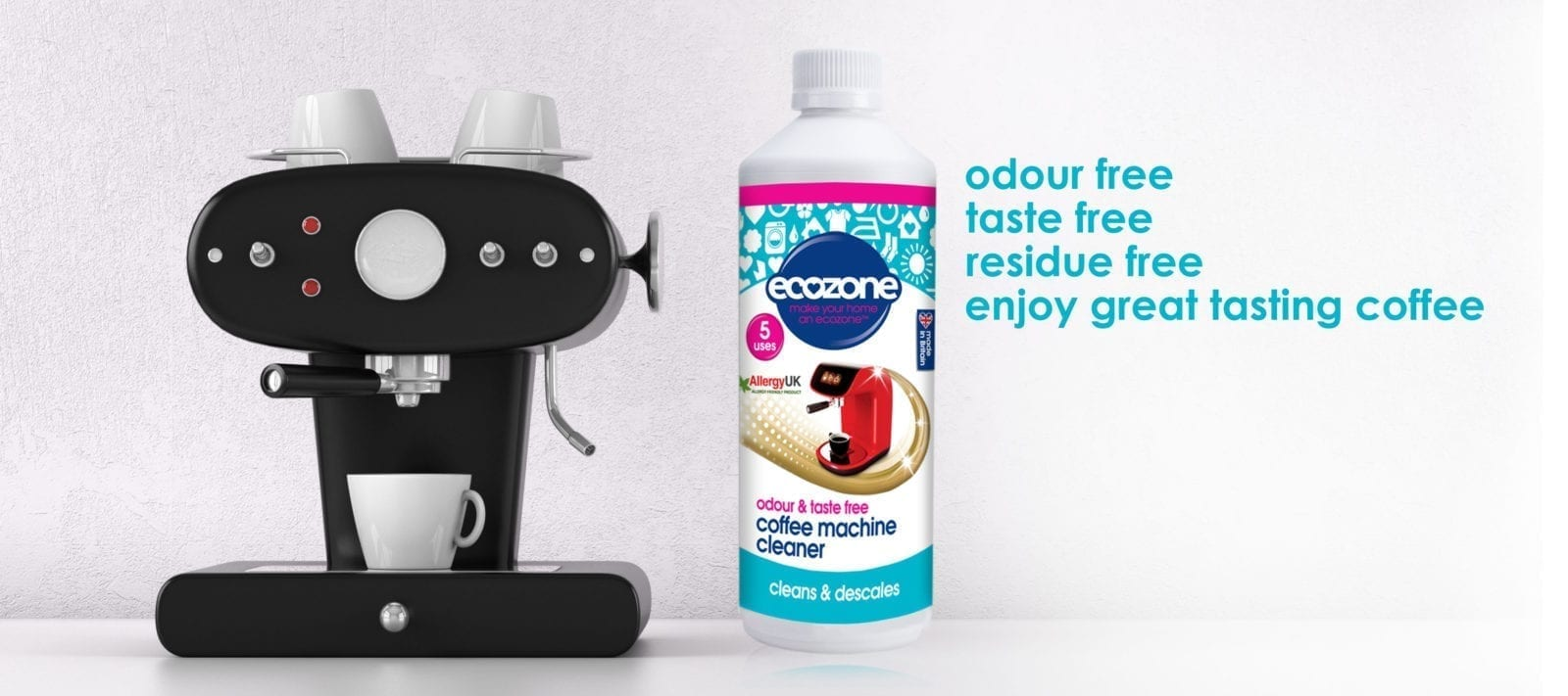 OFFICIAL home of Ecozone coffee machine cleaner