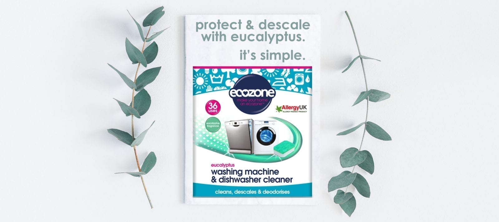 OFFICIAL home of Ecozone washing machine cleaner eucalyptus
