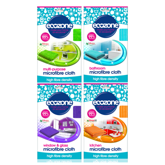 Ecozone Microfibre Cloth Bundle