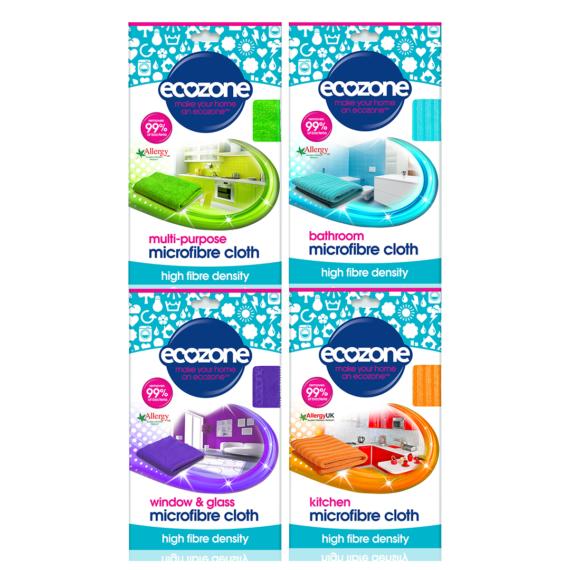 Ecozone products microfibre cloth bundle