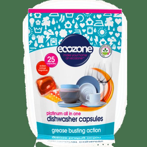 Capsules de lave-vaisselle Ecozone Product 25