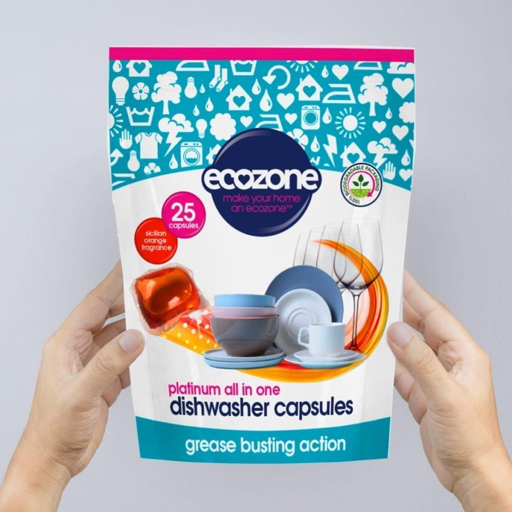 Ecozone Product dishwasher capsules 25