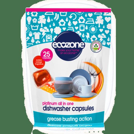 Ecozone Products dishwasher capsules 25