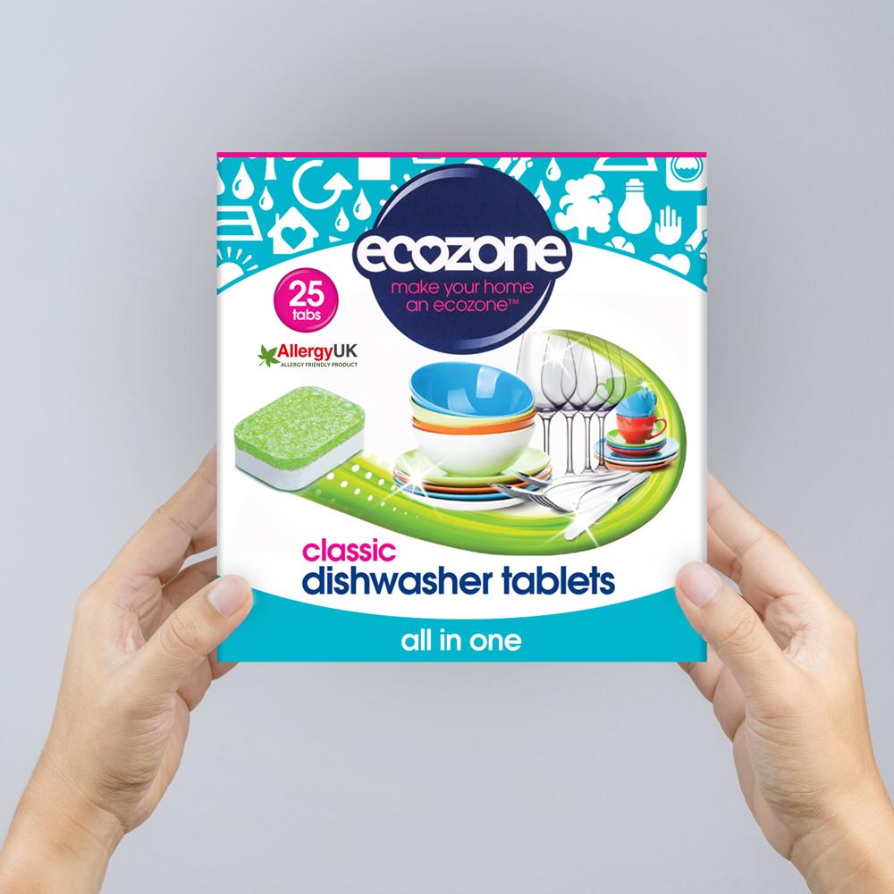 Ecozone Products dishwasher tablets 25
