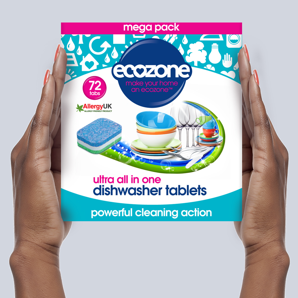 Ecozone Products Dishwasher tablets 72