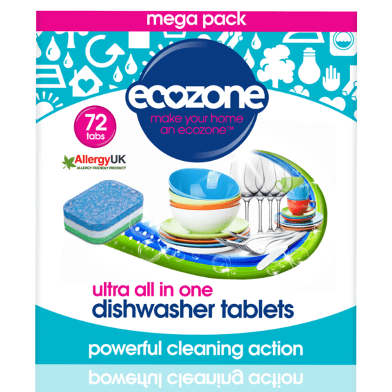 Ecozone Products Dishwasher tablets 72