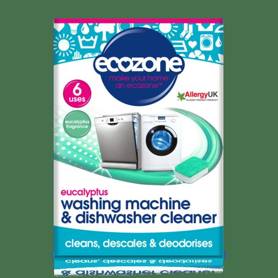 Ecozone Products washing machine cleaner eucalyptus
