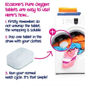 How to use ecozone oxy tablets colour 48 tabs