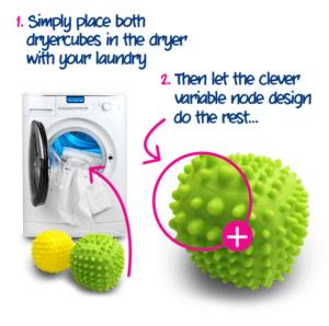 How to used ecozone's dryercubes