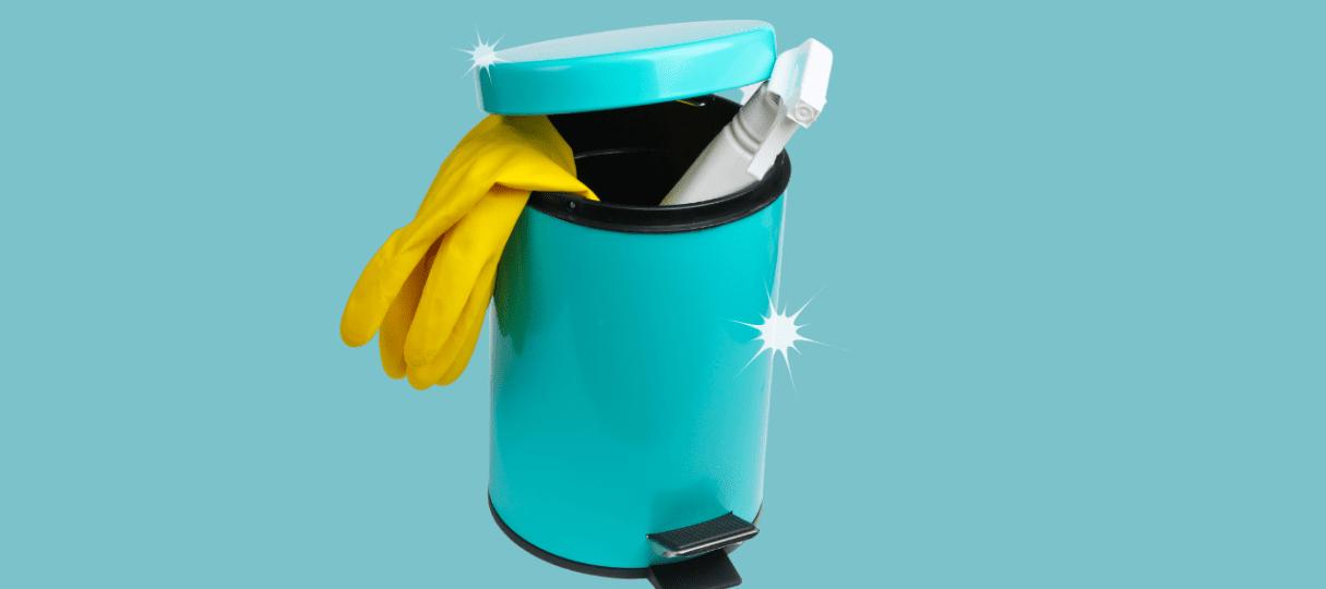 Bin cleaning guide